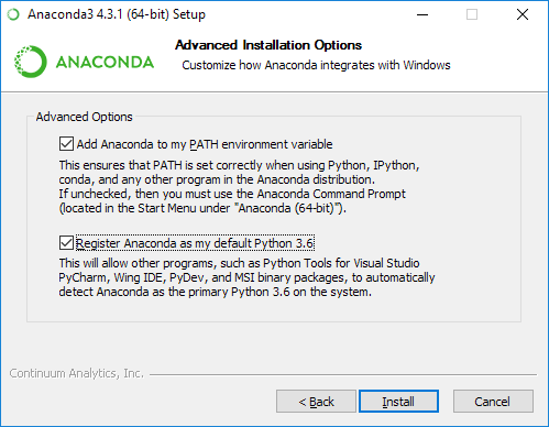 Anaconda on Windows 10: problem with Jupyter Notebook